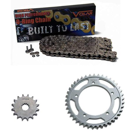 2006-2010 Suzuki GSXR 600 O-Ring Chain and Sprocket Kit - Nickel