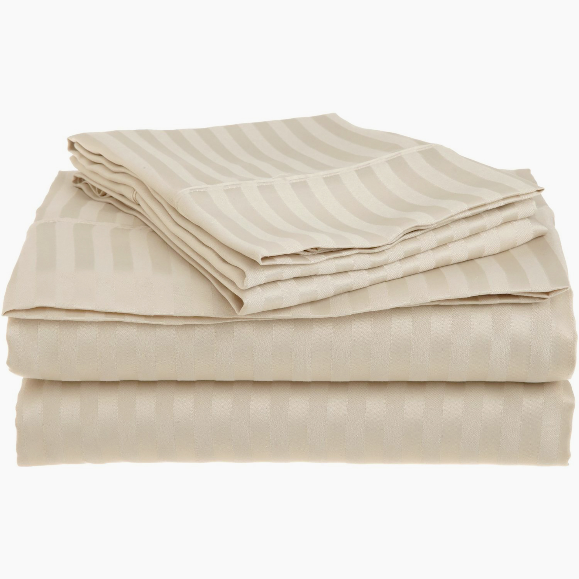 Superior 1500 Stripe Microfiber Sheet Set