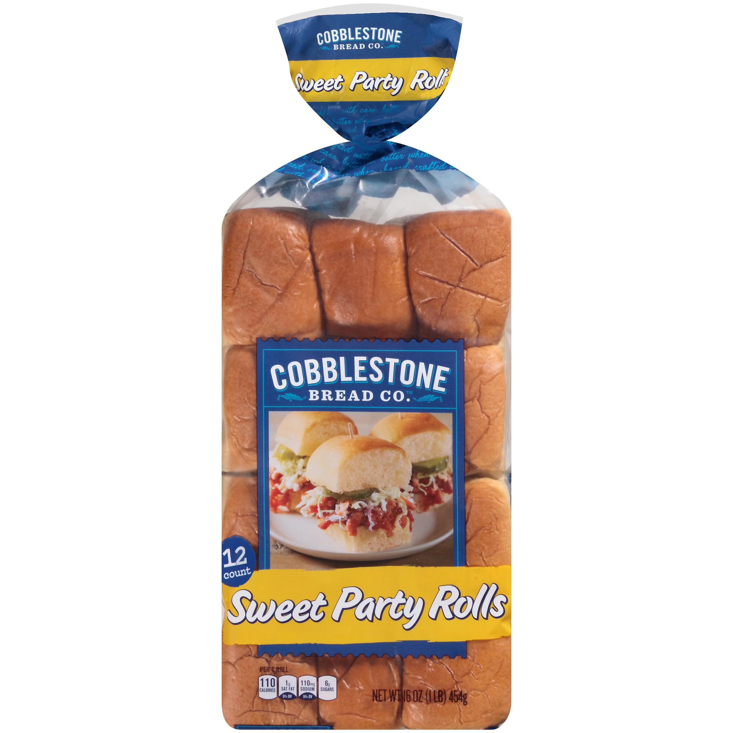 Cobblestone Bread Co.™ Sweet Party Rolls 16 oz. Bag