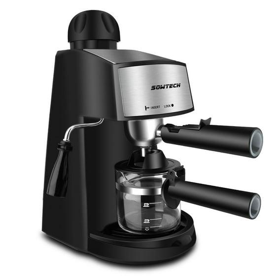 Mocha Espresso Maker ~ Sowtech bar steam espresso machine with w coffee