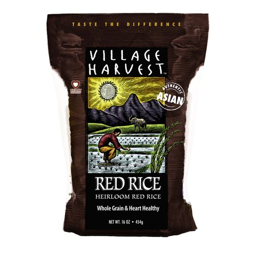 Village Harvest Heirloom Red Rice, 16 oz