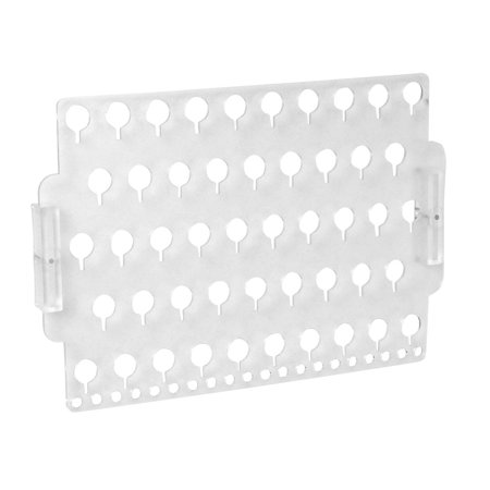 Designers Impressions JR30-FR Frosted Wall Mounted Earring Organizer & Display Rack