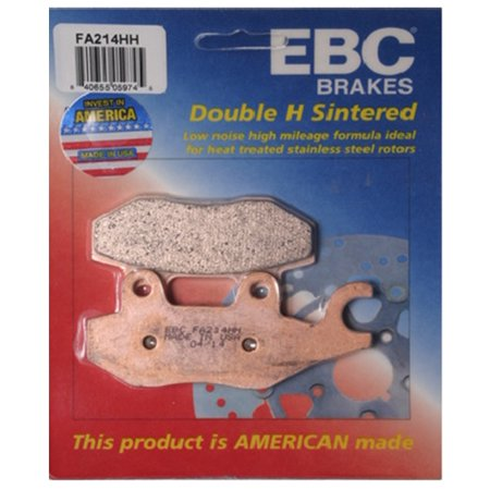 EBC Double-H Sintered Brake Pad - Front for Triumph Trophy 1200 (4 Cyl Up to VIN 4901) (Left) 1993-2001 ()
