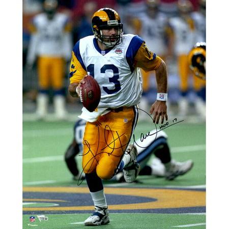 Kurt Warner St. Louis Rams Autographed 16