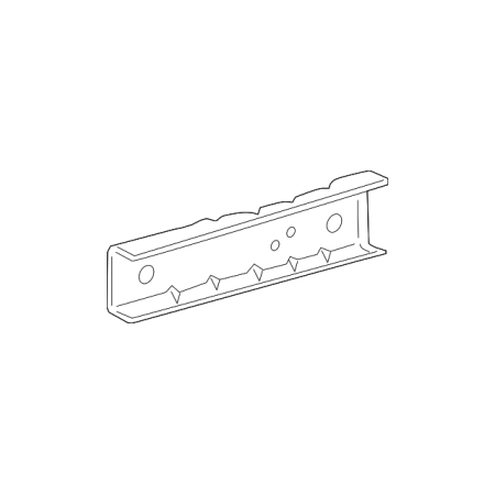 Genuine OE Toyota Front Side Rail Extension 51122-04011