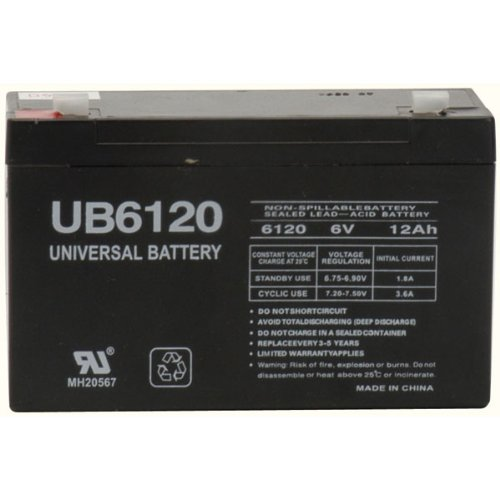 6v 10000 mAh UPS Battery for Panasonic CLRB0610P By 1800B...