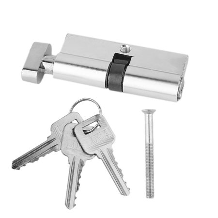 70mm Door Lock Cylinder Aluminum Metal Home Security Anti