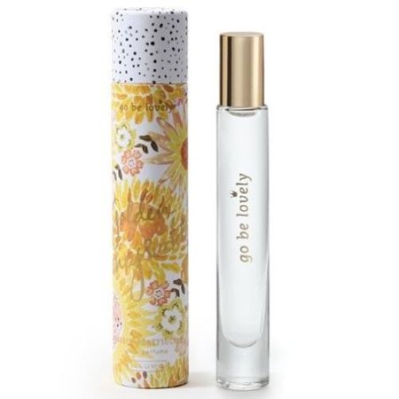 Honeysuckle Home Fragrance - Illume Demi Rollerball Perfume 0.22 Oz. - Golden Honeysuckle