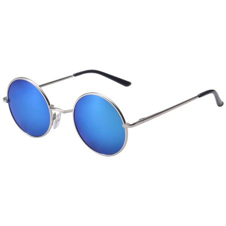 Vintage Men Women Round Mirrored Sunglasses Eyewear Outdoor Sports Glasses