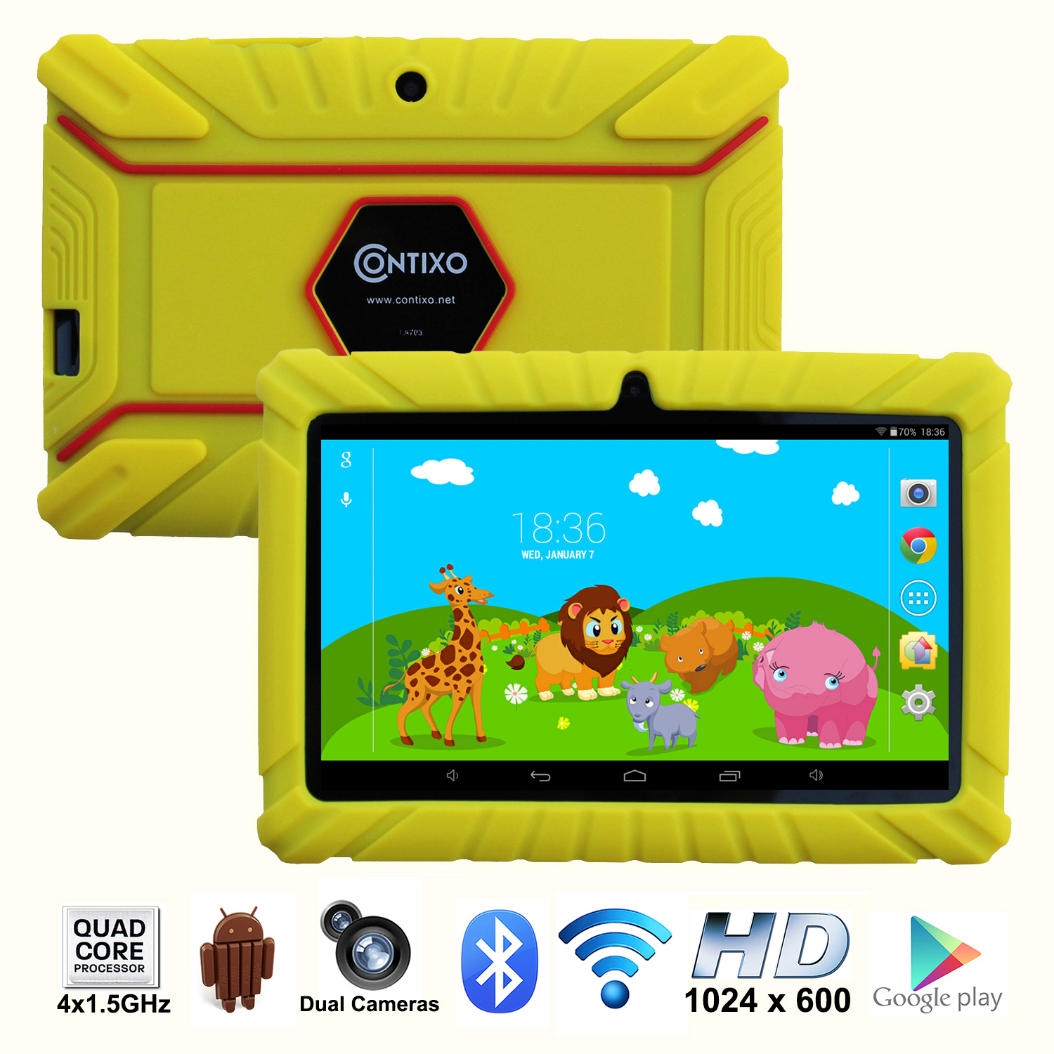 "Contixo 7"" Kids Tablet K2 