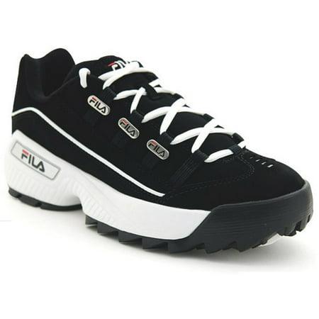 Fila FW02752-014: Men's Hometown Extra Black/White/Vintage Red Sneaker (13 D(M) US Men) (Mens Size 13 High Heels)