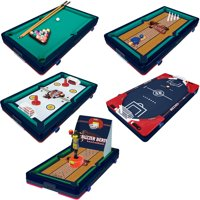 """Franklin Sports 5-In-1 Sports Center Table Top Game, 18.5"""" x 10.5"""" x 3"""""""