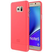 Samsung Galaxy NOTE 5 Case, Encased (SlimShield Series) Ultra Thin Hybrid Cover (Coral Pink)
