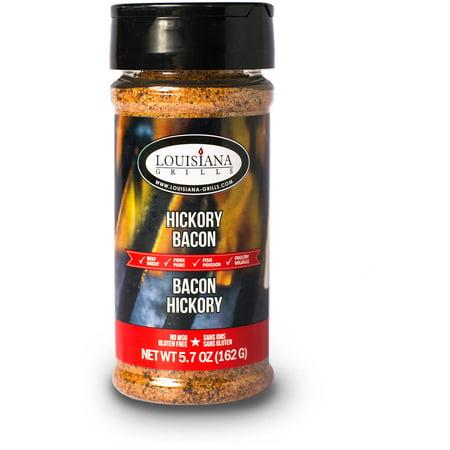 Louisiana Grills Spices and Rubs, Hickory Bacon, 5 oz