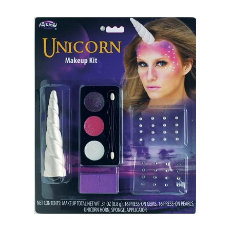 Fun World Complete Unicorn Makeup Kit Standard