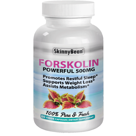 ~ STRONG ~ 500mg FORSKOLIN Extract for Weight Loss (Best Hormone Replacement For Weight Loss)