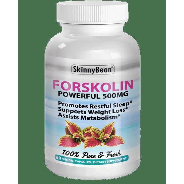 SkinnyBean Forskolin Weight Loss Supplement, 500 mg, 60 Capsules