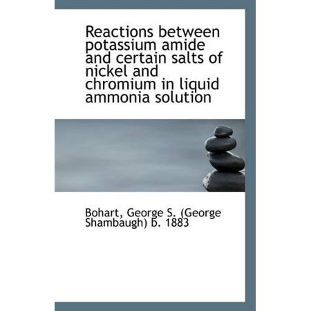 Reactions Between Potassium Amide and Certain Salts of Nickel and Chromium in Liquid Ammonia Solutio - image 1 of 1