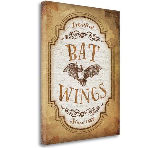 Tangletown Fine Art Bat Wings By Jennifer Pugh