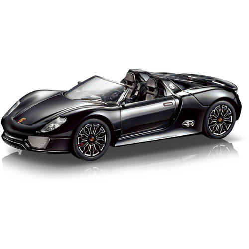 Porsche Spyder 1:24 R/C Car, Black