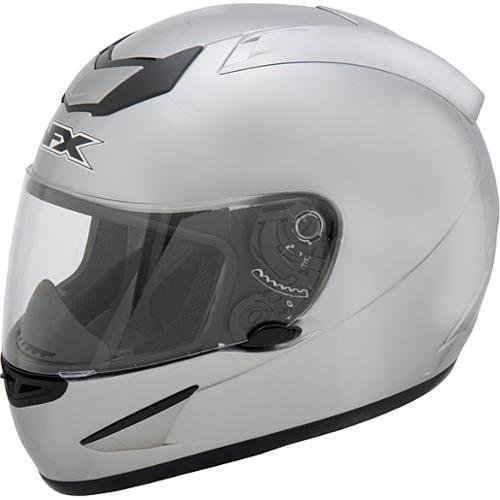 AFX FX-95 Solid Helmet Silver