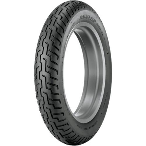 Dunlop D404 Metric Cruiser Tubeless Bias Front Tire 100/90-18