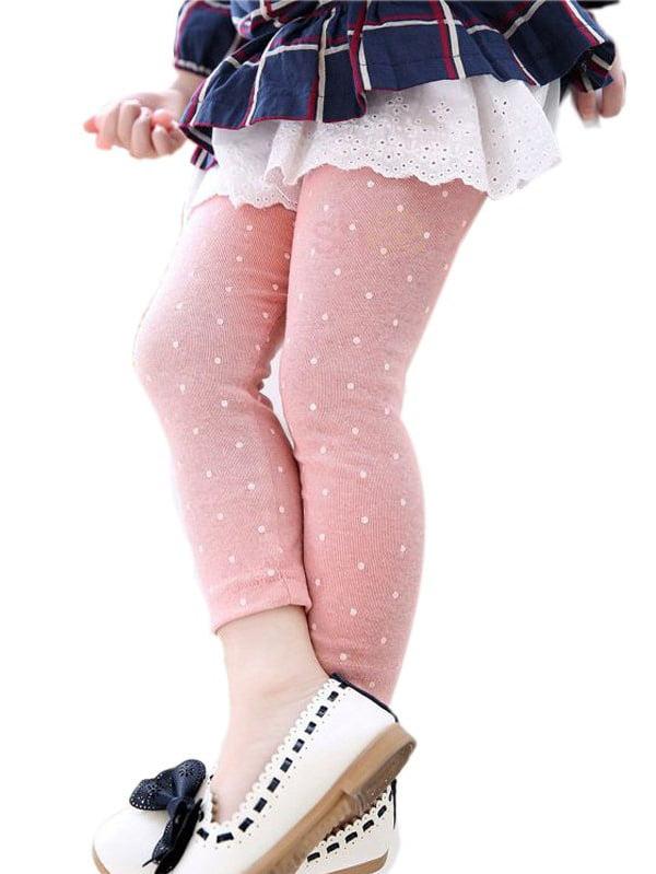 Leggings 2017 New Arrive Candy Dot Girls Leggings Toddler Classic Leggings 2-13Y Children Trousers Kids Leggings Girl Pants