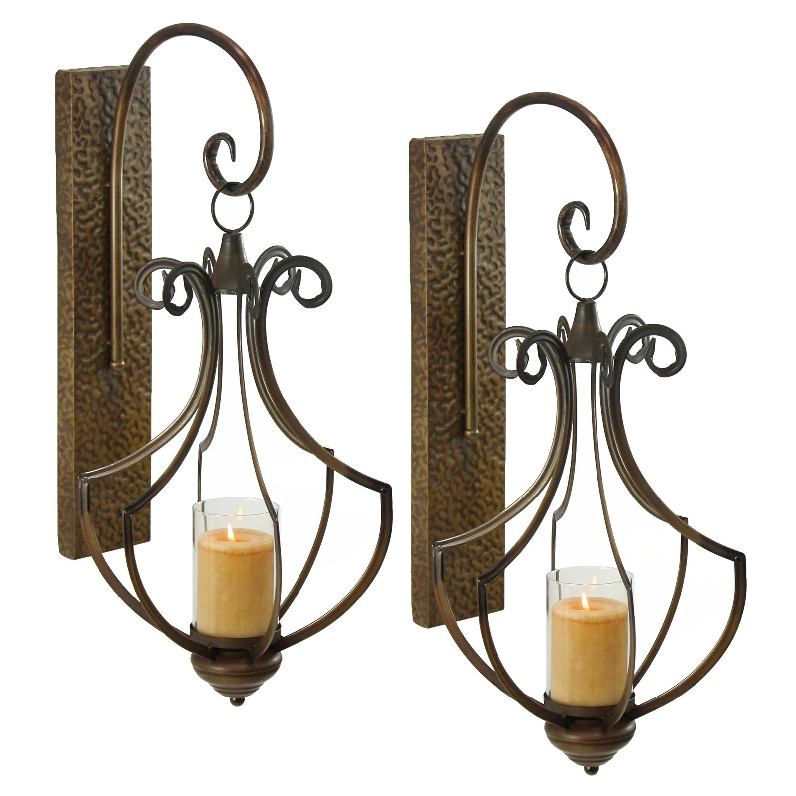 Aspire Home Accents Ribley Candle Wall Sconce Set of 2 by Aspire Home Accents