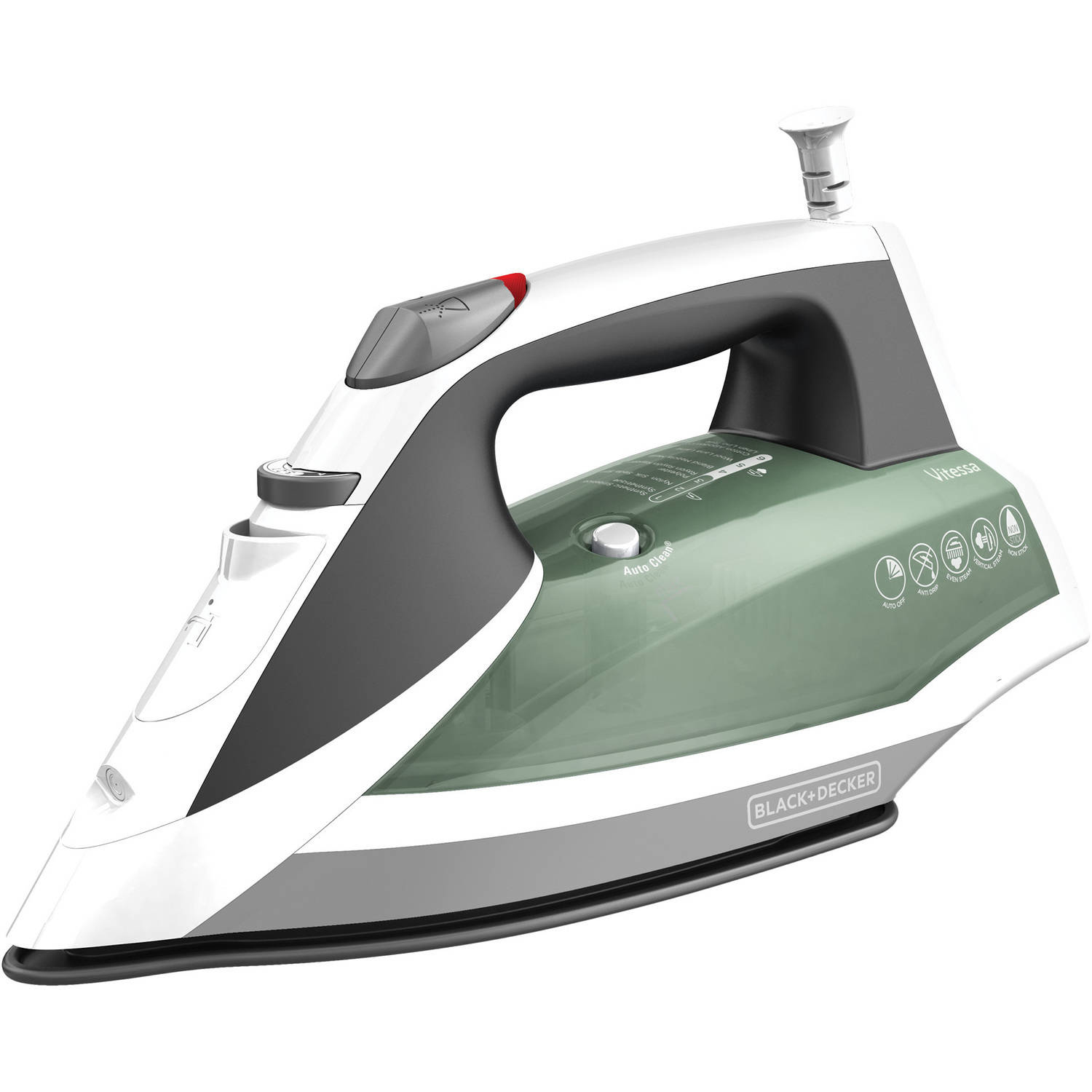 Black & Decker Vitessa Advanced Steam Iron, Nonstick Soleplate