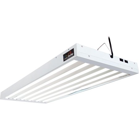 - Agrobrite T5 324W 4' 6-Tube Grow Light Fixture w/ Fluorescent Lamps | FLT46