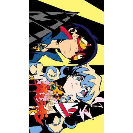 Tengen toppa gurren lagann (2007) 11x17 TV Poster (Japanese)