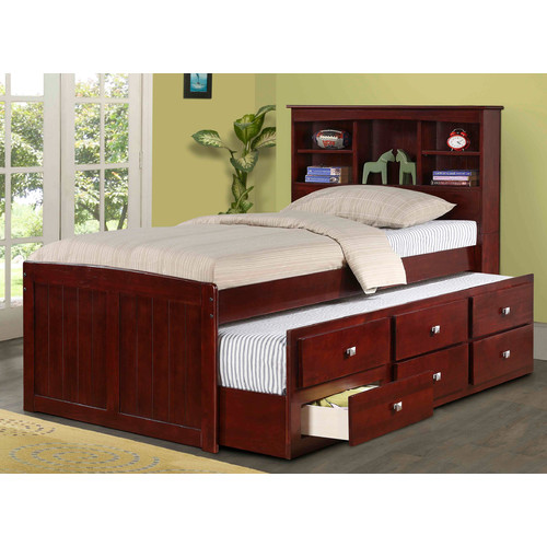 Donco Kids Captain Bed with Trundle