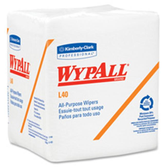 Kimberly-Clark Professional KCC05701CT Wypall L40 All-Purpose Wipers, 18 Per Carton