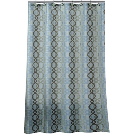 Image of Allure Home Creations Ogi Geo Shower Curtain