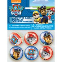 PAW Patrol Bouncy Ball Party Favors, 6ct