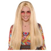 AMSCAN Sunshine Day Wig Halloween Costume Accessories, Blonde, One Size