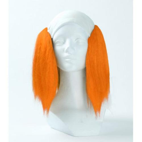 Morris Silly Boy Bald Deluxe Wig - Orange