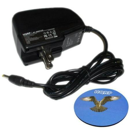 HQRP Travel Wall AC Power Adapter / Battery Charger for Mintek MDP1810,  MDP-1810, MDP5510, MDP-5510, MDP-1730, MDP-1815 DVD Player Replacement +  HQRP