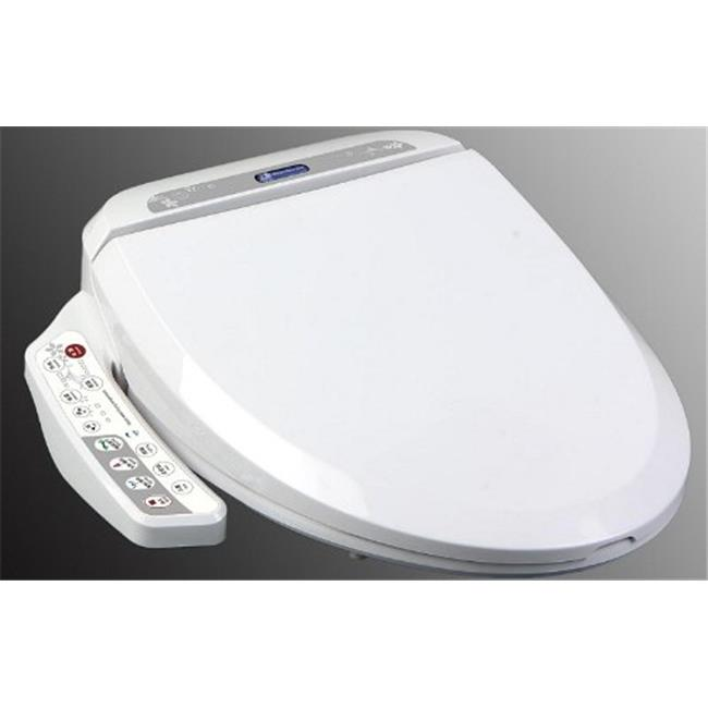 BIDET4ME E-200A Electronic Bidet Seat with Dryer and Deod...