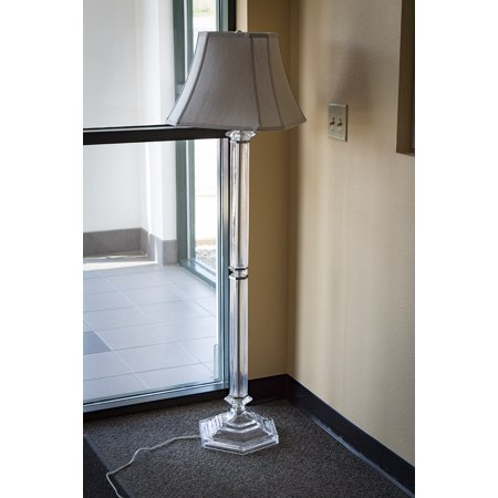 Battersby Mirror Plated Floor Lamp Base By Laura Ashley