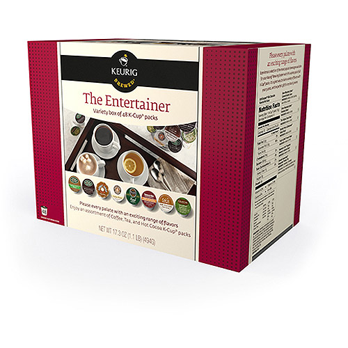 Green Mountain The Entertainer K-Cup Coffee Variety, 48 count