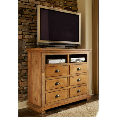 Progressive Furniture Willow 6 Drawer Media Chest ()