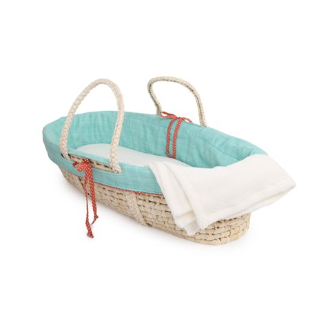 Jungle Basket - Cotton Tale  Jungle Scribbles Moses Basket