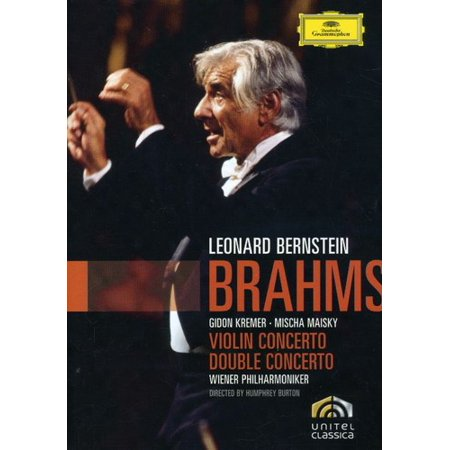 J. Brahms - Brahms: Violin Concerto; Double Concerto [DVD Video] (Violin Concerto Dvd)