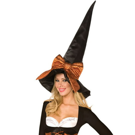 Halloween Coffin Witch Costume Hat, Black Copper, One-Size 29