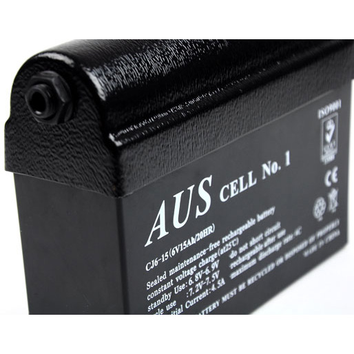 Minelab 6V Gel Cell 15 A/Hr Power Pack