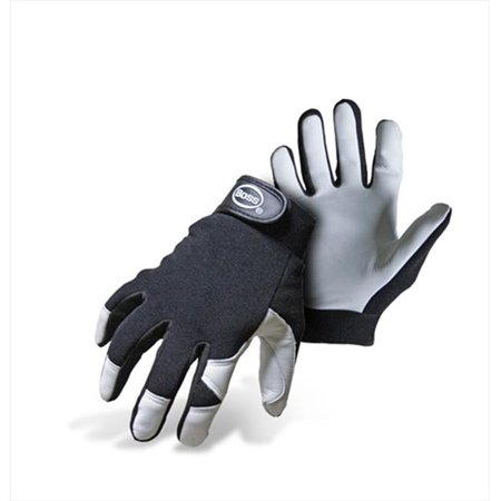 Boss 4047X Extra Large Mechanic Goatskin Palm Gloves in Black - Pack of 12 - image 1 de 1