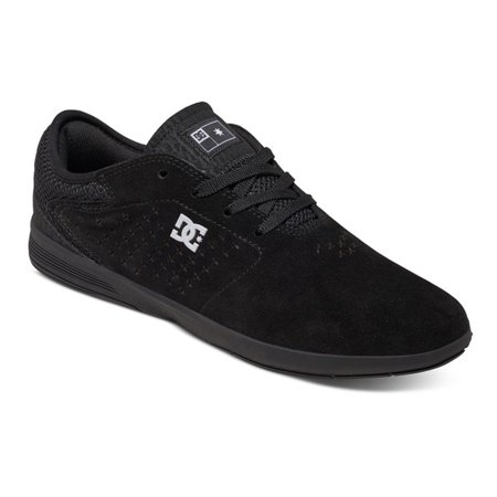 DC Men's New Jack S Skate Sneakers Black Suede Rubber 9.5 D