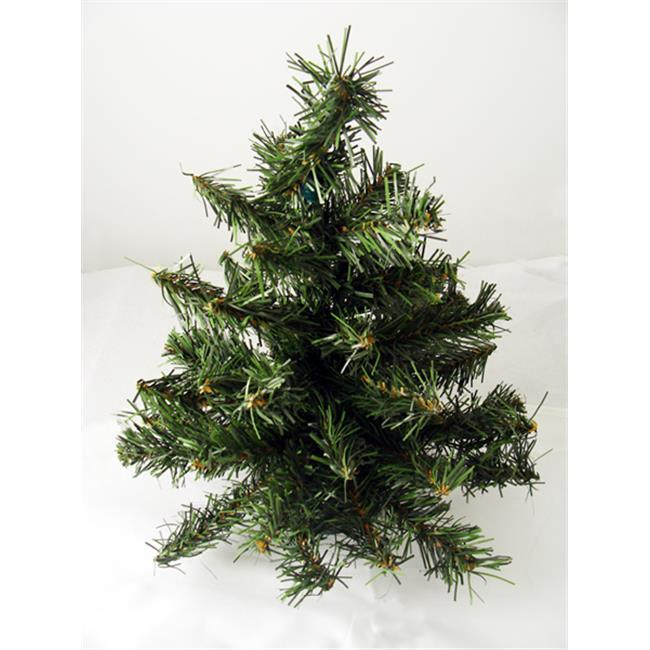 NorthLight 18 inch Canadian Pine Artificial Christmas Tree, Unlit
