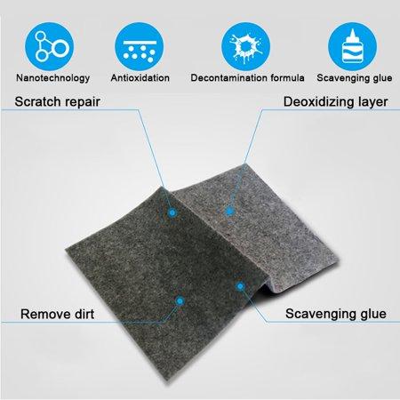 Multipurpose Car Scratch Remover Cloth, Magic Paint Scratch Removal, Car Scratch Repair Kit for Repairing Car Scratches and Light Paint Scratches Remover Scuffs on